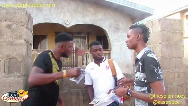 Download Comedy Video: Thespian Nozy – Be A Cheerful Giver