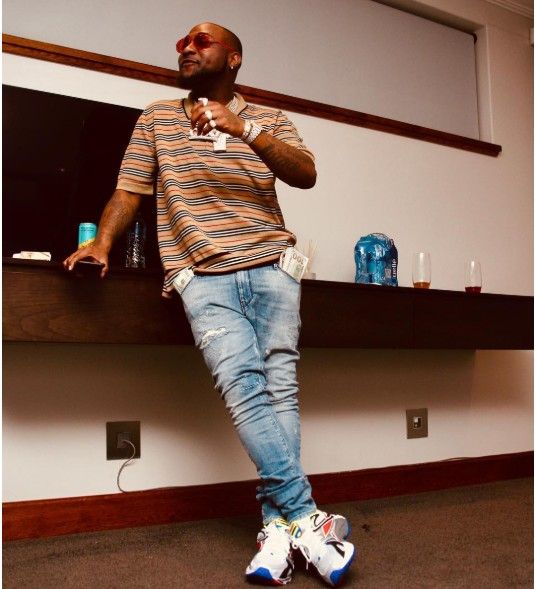 The King Is Here! Davido Gaps Wizkid With 11million Instagram Followers