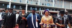 May 29: Photos Of Rochas Okorocha Leaving Imo Government House In Style