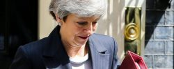 """BREAKING!! British Prime Minister Theresa May To QUIT """"In Hours"""" Following Week Of Brexit Embarrassment"""