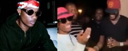 Nigerians React Over The 'DISRESPECTFUL' Manner Wizkid Greeted 2Baba At Patoranking's Party (Video/Reactions)