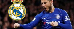 Galáctico!! Real Madrid Announces Date To Unveil Hazard After Reaching Agreement With Chelsea