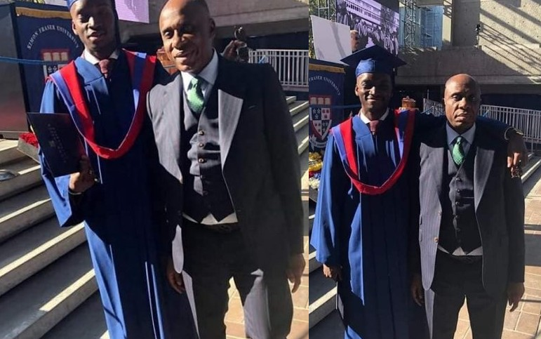 Image result for images of Amaechi's Son Graduates From Canadian University