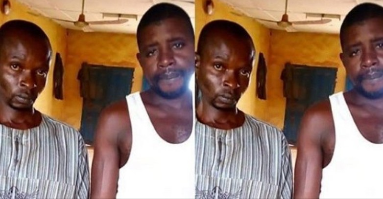 Police Parade two men who raped mentally challenged 23-year-Old