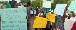 Give Us RUGA : Students Of Usman Dan Fodio University Sokoto Stage Protest
