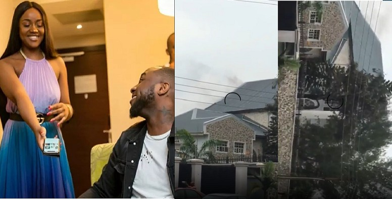 Oh No! Fire Breaks Out At Davido's Father's House… People