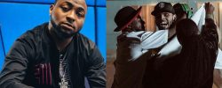 BROTHERS IN ARMS! See The Huge Sacrifice Chris Brown Paid For Davido During Blow My Mind Video [PHOTOS]