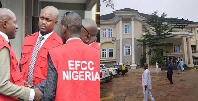 Image result for images of EFCC Hands Over Late Alex Badeh's Forfeited Property To NEDC