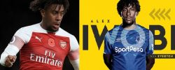 Arsenal Fans Emotional As Alex Iwobi Departs To Join Everton, Undergoing Medical In London