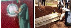 Protesting FUOYE Student Killed By Police, Buried Amidst Tears [Photos]