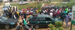 BREAKING! Police Allegedly Kill FUOYE Student… Injure Others During Protest [PHOTOS]